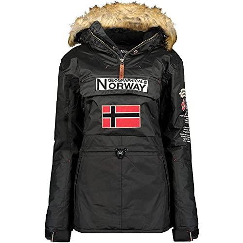Geographical Norway Bridget Lady - Parka Impermeable Mujeres - Abrigo...
