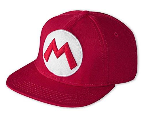 Nintendo Snap Back Cap - Super Mario - Einheitsgröße - rot