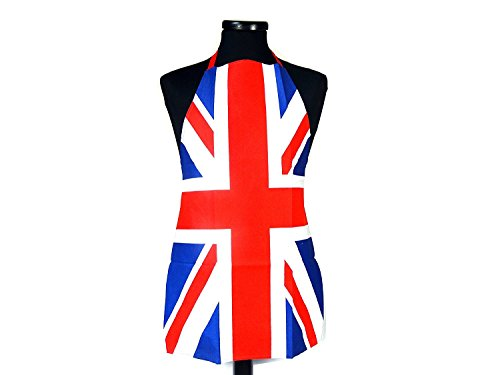 Union Jack Bedrukt Katoenen Schort - De Britse Souvenircollectie