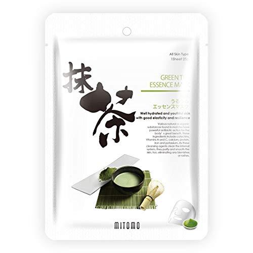 Máscaras MITOMO con Té Verde Matcha [6 piezas]