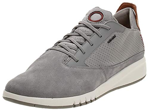 Geox Aerantis Herren-Sneaker, Grau (grau), 46 EU