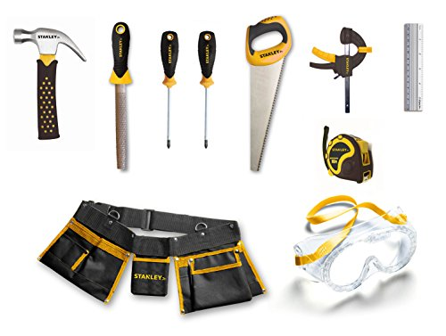 Product Image of the Stanley Jr. Children's 10 Piece Toolset