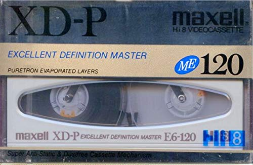 Sale!! Maxell XD-P 120 Minute Hi 8 Blank Video Cassette Camcorder Recording Tape