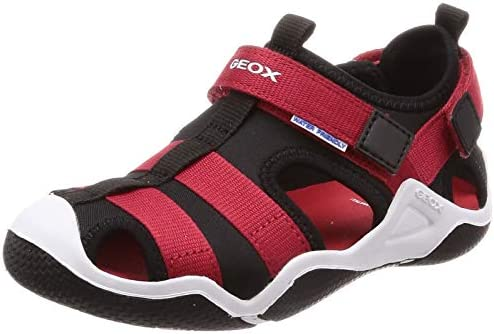 Details about  /Geox Kids J Wader A Touch Fastening Shoe Black
