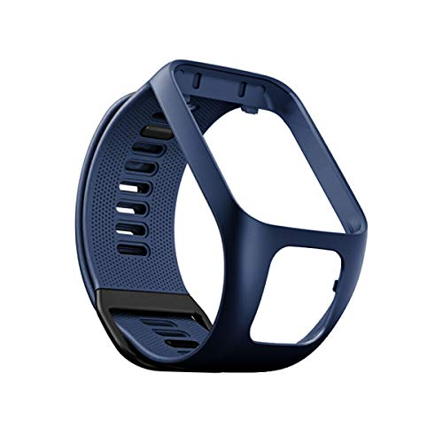 Zeehar Ysang Compatible with Tomtom Watch Band, Replacement for Tomtom Runner2/Spark3/Golfer2/Adventurer Silicone Sports Strap Bracelet Wristband-Fitness Tracker Smart Watch Accessories