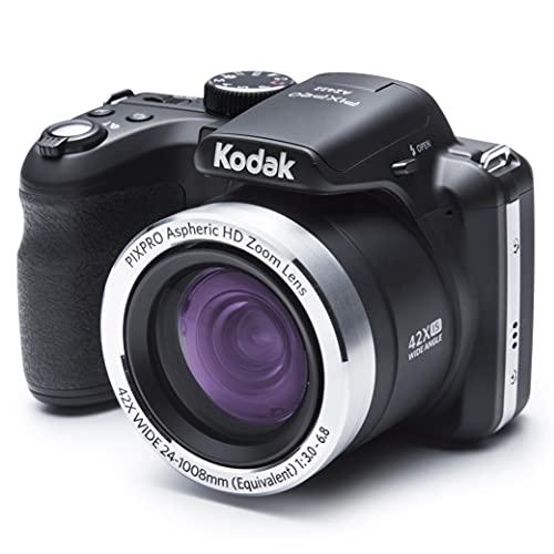"""Kodak Astro Zoom AZ422 Cámara digital, 20MP, 1/2.3"""" CCD, 5152 x 3864 Pixeles, Negro"""