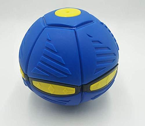 Balón de fútbol moribai deformado, bola OVNI deformada con platillo volador mágico ligero, disco volador OVNI, bola de ventilación de juguete para padres e hijos