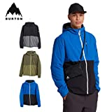 Burton – Giacca da sci / Snow Multipath Hooded Ins Lapis Blue/True Black Uomo – Bianco, bianco, L
