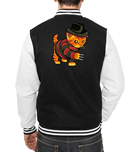 Certified Freak Evil Cat College Vest Black XXL
