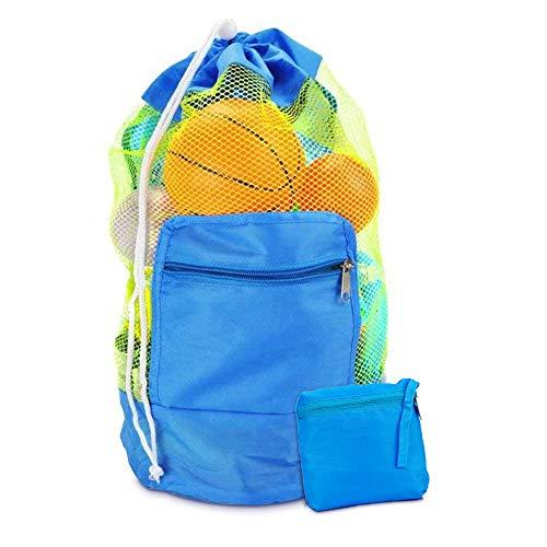 Bolsa de Juguetes de Playa, Bolsa de Playa de Malla para Juguetes de Arena Mochila de Playa para niños Nadar y Piscina Bolsa de Playa XL Grande para Vacaciones Familiares