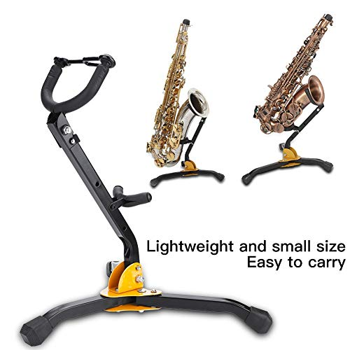 Alto Tenor Saxofoonstandaard, inklapbaar metaal, instelbaar, saxofoon