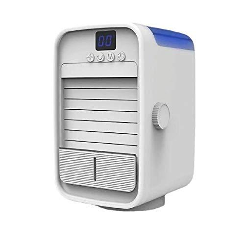 Tragbarer Luftkühler, Mini-Klimaanlage, einstellbare filtro de aire acondicionado, cable de alimentación con...
