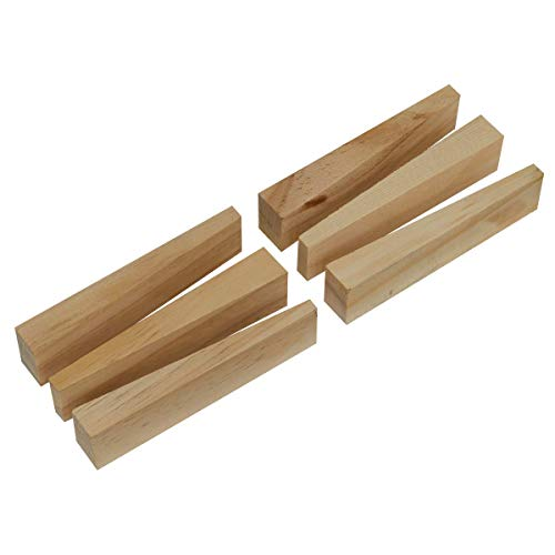 Sealey WSWW Wooden Wedge Kit 6pc Holzkeil-Set, 6-teilig