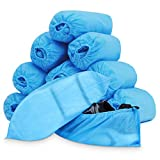 Amazqi Shoe Covers Disposable, 200 Pack (100 Pairs) Non-Woven...