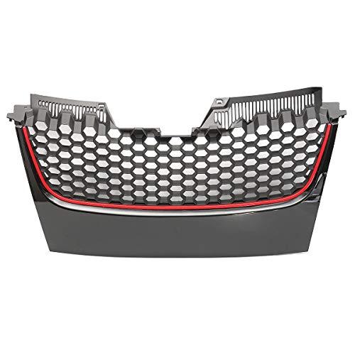 N\A Parrilla Delantera del Coche For Accesorios de Coches MK5 Golf GTI Delantero GT Sport Parachoques Parrilla de la Parrilla Seguro de Calidad