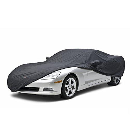 Corvette Car Cover Stormproof - Convertible : 2005-2013 C6 (All Colors) (Grey/Black)