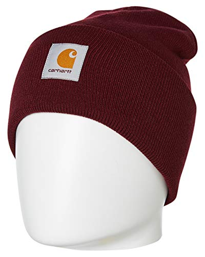 Carhartt WIP Herren Mütze Acrylic Watch Hat Bordeaux One Size
