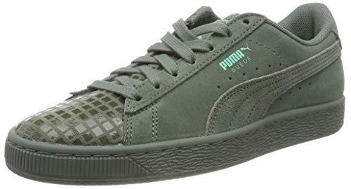 Puma Damen Suede Classic Street 2 WN's Sneaker, Grau (Laurel Wreath Aged Silver 02), 39 EU