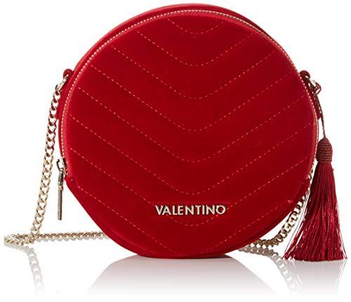Mario Valentino Valentino by Damen Carillon Umhängetasche, Rot (rosso), 5.5x18x18 cm