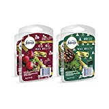 Febreze Wax Melts, Air Freshener and Odor Eliminator, Cranberry & Pine Scents Variety Pack, 4 Packs, 6 Cubes Each