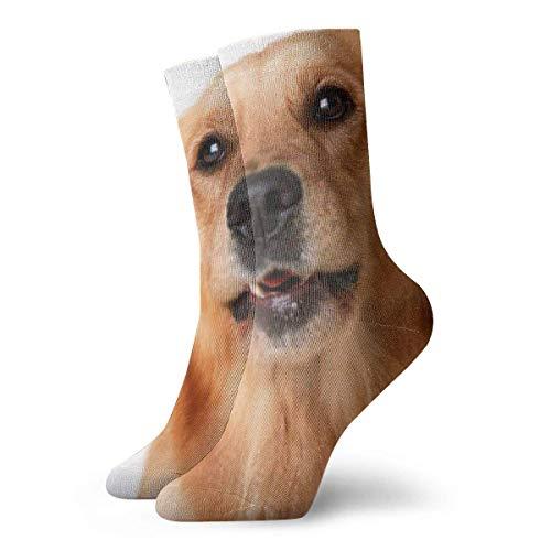Socks Calcetines Schöne Hundemuster Calcetines cortos unisex para adultos que absorben la humedad atléticos para correr, fitness, viajes, trabajo