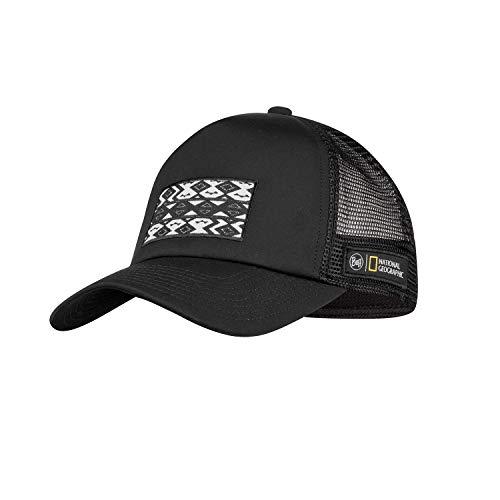 Buff Trucker Cap, Black, One size Unisex-Adult