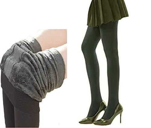 Alexvyan Women Warm Thick Fur Lined Fleece Winter Thermal Soft...