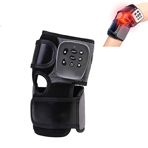 Máquina de masaje de rodilla eléctrica recargable Almohadillas de rodilla eléctricas vibratorias cálidas...