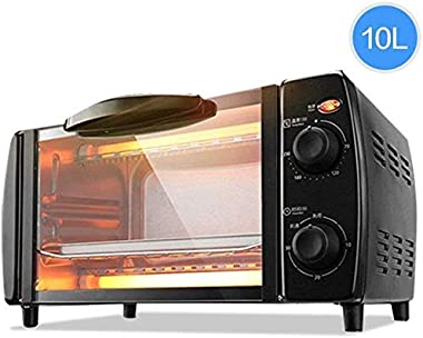Rindasr Countertop microwave,2 Layer 10L Mini Electric Baking Oven 220V Home Pizza Oven Baking Tools for Cakes Chicken Wing T