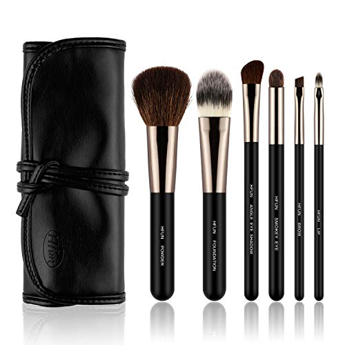 Make Up Pinsel Set Professionelles 6pcs, Kosmetikpinsel Foundation Gesicht Augen Lippen pinsel...