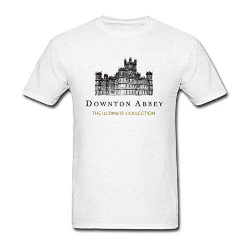 kittyer Hombres de Downton Abbey diseño algodón T Shirt S