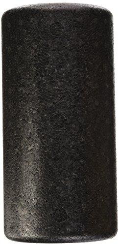 Faszienrolle halbrund / Massagerolle - Pilates, Physio, Yoga, Triggerpunkt, 31 x 15 x 10 cm, schwarz