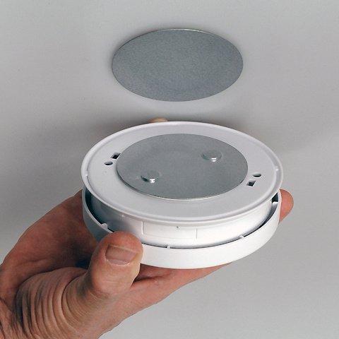 Magnetbefestigung für Rauchmelder, Gasmelder, Rauchgaswarner