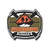Adventure Seeker Sticker Vinyl Decal for Auto Cars Trucks Windshield Laptop RV Camper