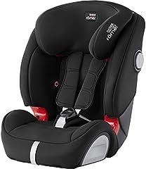 BRITAX RÖMER Silla de coche EVOLVA 1-2-3 SL SICT, con protecciones laterales, niño de 9 a 36 kg (Grupo 1/2/3) de 9 meses a 12 años, Cosmos Black