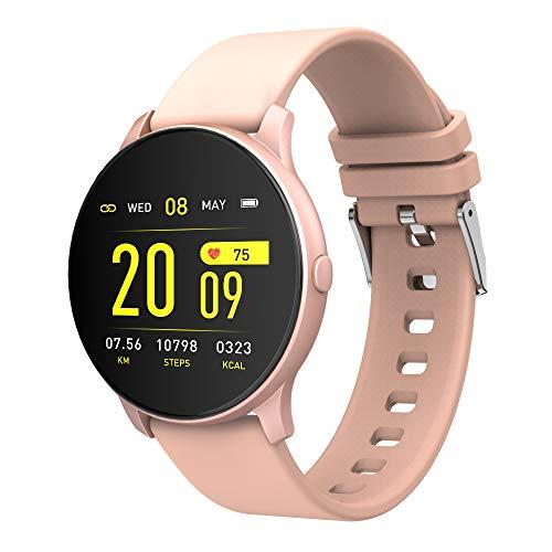 Docooler Smartwatch Magic Watch,TFT Impermeable Pulsera Inteligente Bluetooth 4.0 para Frecuencia cardíaca Presión Arterial Oxígeno en la Sangre Monitoreo del sueño Compatible con iOS/Android