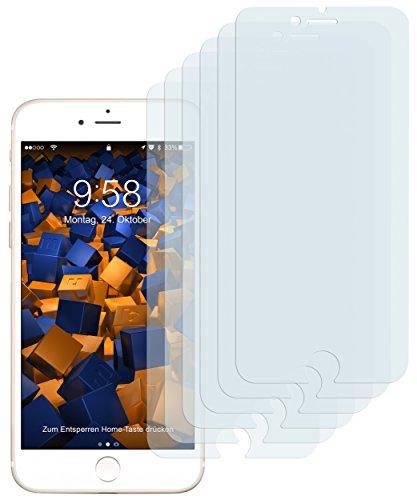 mumbi Schutzfolie kompatibel mit iPhone SE 2 2020 Folie, iPhone 7 Folie, iPhone 8 Folie klar, Bildschirmschutzfolie (6X)