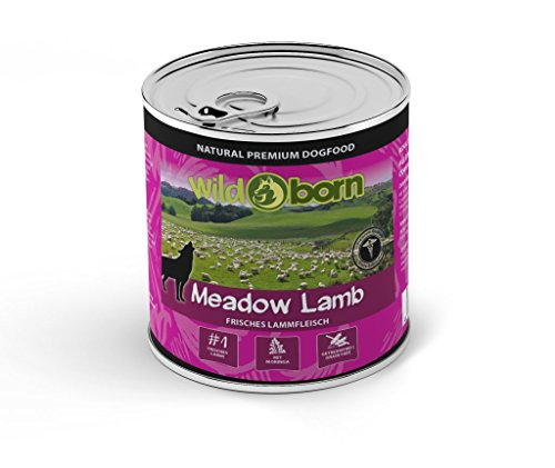 Wildborn Meadow Lamb Nassfutter mit Lamm 6 X 800 g