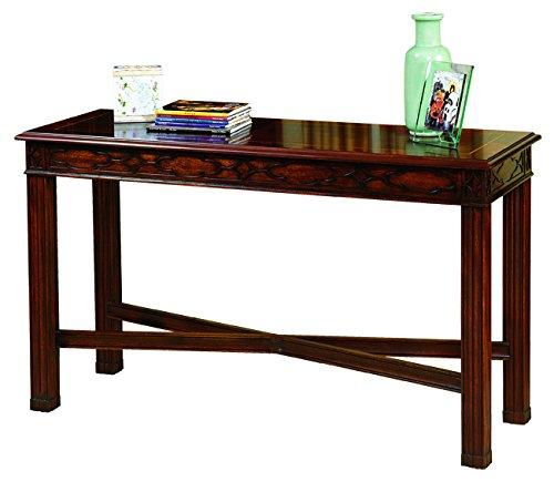 Henkel Harris Model #5721 Chippendale Mahogany Stretcher Base Sofa Table ~ New