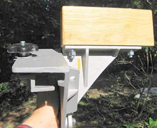 Side-Saddle Canoe Motor Mount for Old Town Canoes with Vinyl Gunwales Only. Also fits Wenonah Canoe with Vinyl gunwales. Great Motor Bracket!!