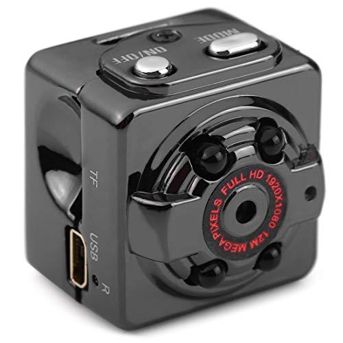 Full HD Überwachungskamera Mini Kamera versteckte intelligente Kamera mit Bewegungserkennung/Nachtsicht für Zuhause/Haustier/babay