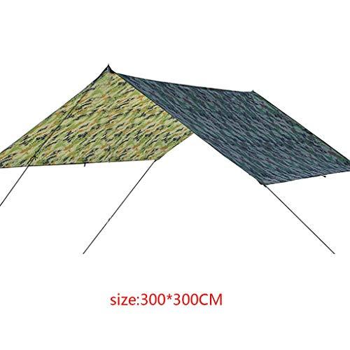 Qinghengyong Al Aire Libre Tienda Grande del Techo de sombrilla de Playa Que acampa Impermeable cojín de la Estera del Piso Resistente de Humedad