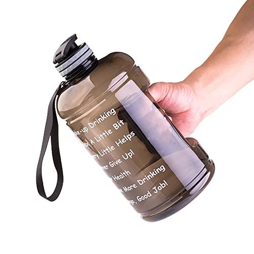 Botella de bebidas Deportes Botella de Agua Gran Capacidad Senderismo Escuela Camping Beber Deportes Big Jug Gym Keg 2200 ml