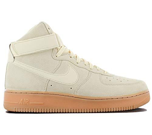 Nike Air Force 1High '07lv8Suede–Zapatillas de gimnasia, multicolor, 36–37–38–39–40–41–42–43–44–45–46, color Beige, talla 38.5 EU
