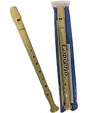 Flauta dulce Concerto 9508-8A15 de plástico digitación alemana