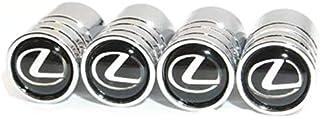 4pcs /set Silver Chrome Car Wheel Tire Air Valve Caps Stems Cover Air Dust Cover Screw Caps For Lexus