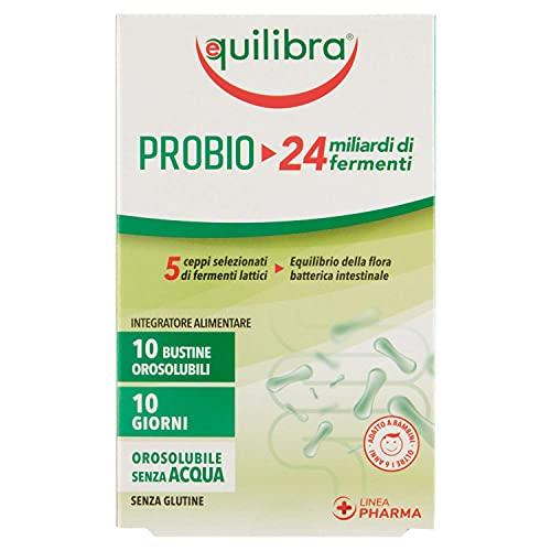 Equilibra Integratori Alimentari, Probio 24 Miliardi, Integratore di Fermenti Lattici per...