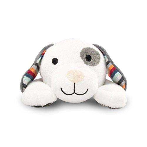 Zazu Kids Soft Heartbeat Toy Voice & Touch Activated Sound Machine Sleep Soother (DEX the Dog), Dog