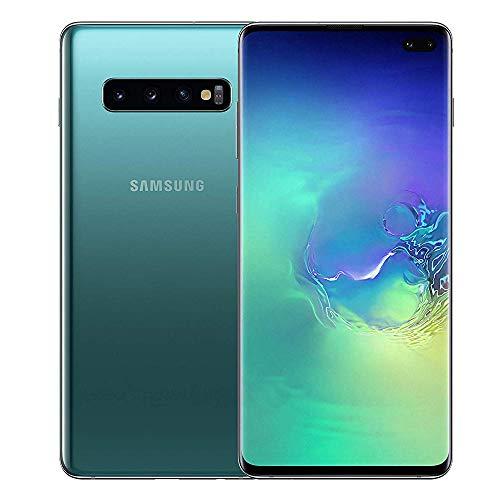 Samsung Galaxy S10+ Plus SM-G975F Dual-SIM/HYBRID-SIM 128GB Factory Unlocked 4G/LTE Smartphone (Prism Green) - International Version