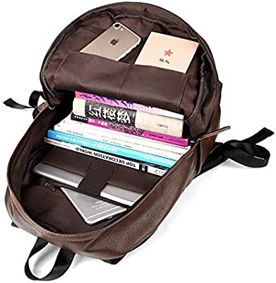 Fashion PU Leather Backpack for Ladies Women Girls Female Waterproof Solid Bags Gift College Student Mochila